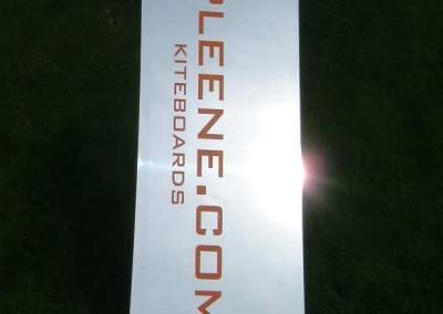 Kiteboard Chrom Starter von Spleene Kiteboarding