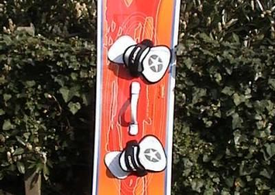 Kiteboard Door FOF von Spleene Kiteboarding