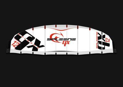 Freeride Kite QX von Spleene Kiteboarding