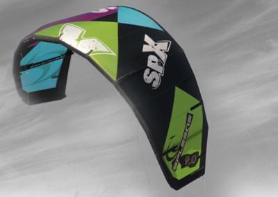 Freestyle Kite SPX von Spleene Kiteboarding