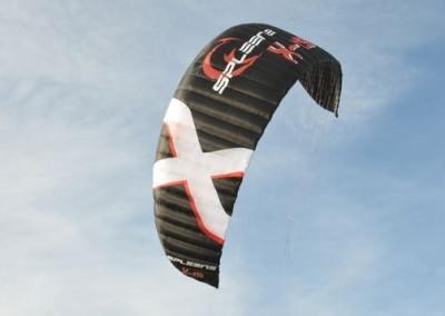 Kite X-19 von Spleene Kiteboarding