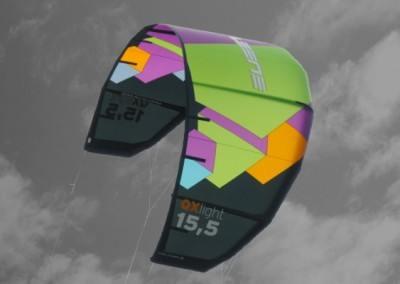 Leichtwind Kite QX light von Spleene Kitebaording