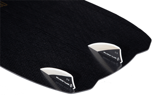 Spleene Kiteboarding Grind Base and fins