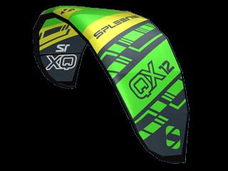 QX-II Kite - The Freeride Machine - SPLEENE Kiteboarding