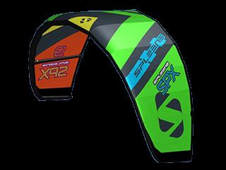 SPX-IV Freestyle Crossover Kite - SPLEENE Kiteboarding