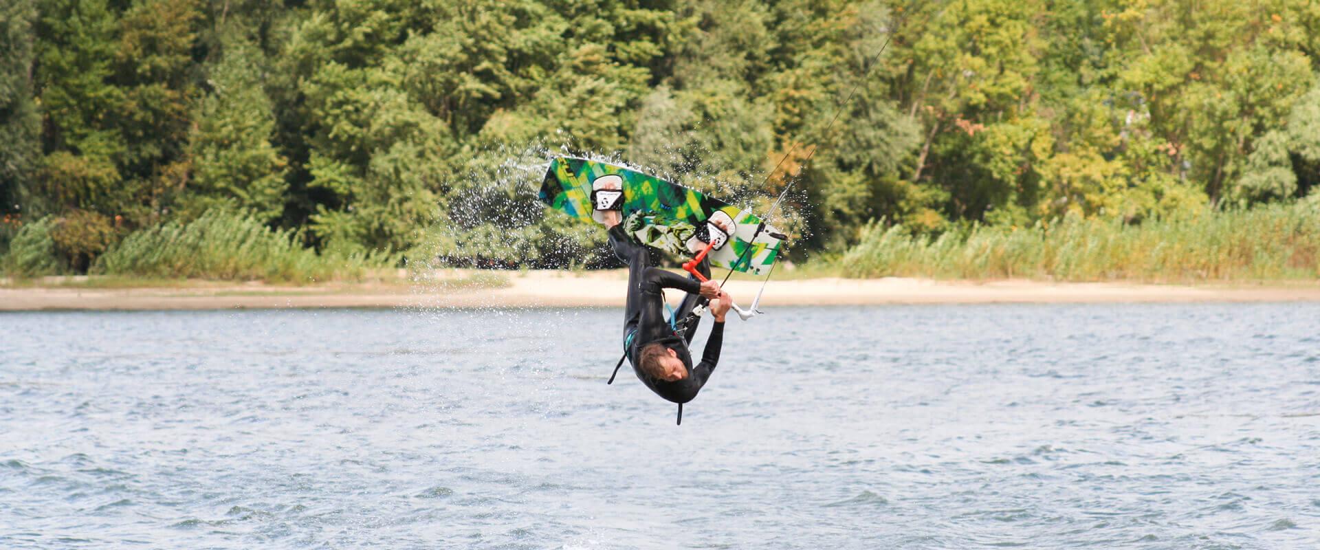 SPLEENE Kiteboarding - RS Kiteboard in Action