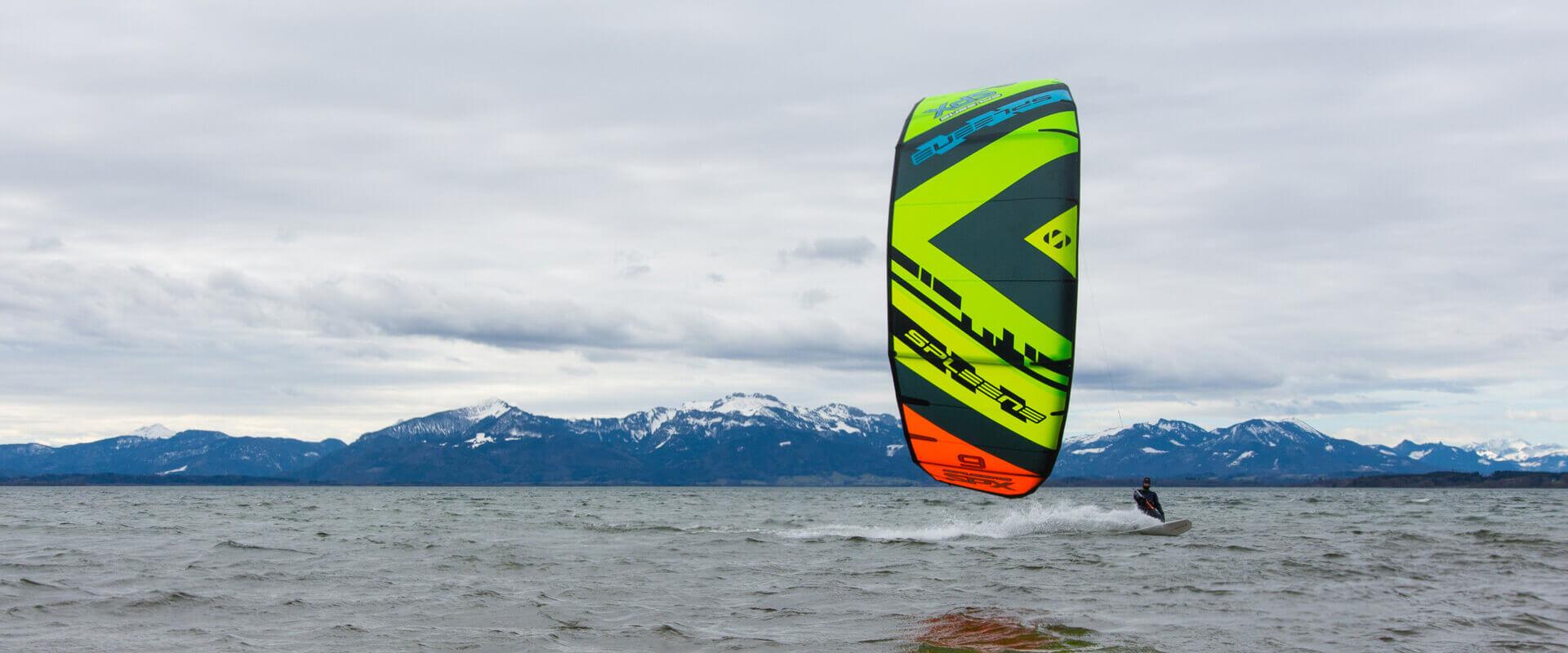 SPLEENE Kiteboarding - SPX Kite in Action