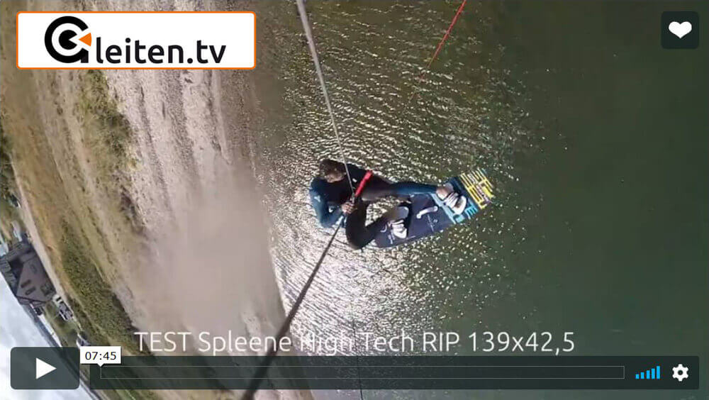 SPLEENE Kiteboarding - High Tech RIP Gleiten.TV