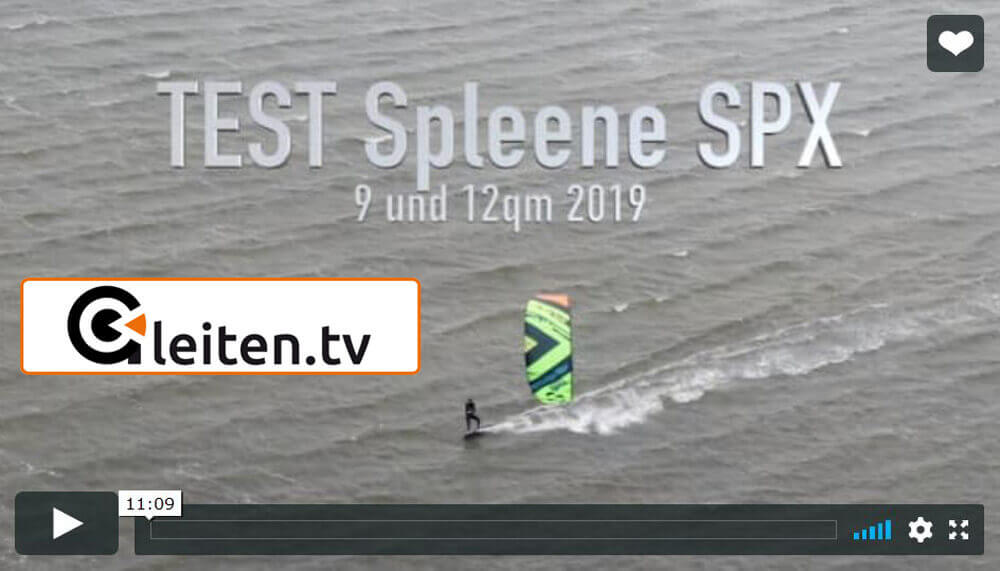 SPLEENE Kiteboarding - SPX-IV Kite Gleiten.TV